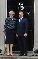 UK: May welcomes Hungarian PM Viktor Orban, 9 Nov. 2016