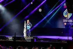 20.02.2019, Seefeld, AUT, FIS Weltmeisterschaften Ski Nordisch, Seefeld 2019, Eröffnungsfeier, im Bild OeSV Praesident Peter Schroecksnadel // OeSV President Peter Schroecksnadel during the opening ceremony of the FIS Nordic Ski World Championships 2019. Seefeld, Austria on 2019/02/20. EXPA Pictures © 2019, PhotoCredit: EXPA/ JFK