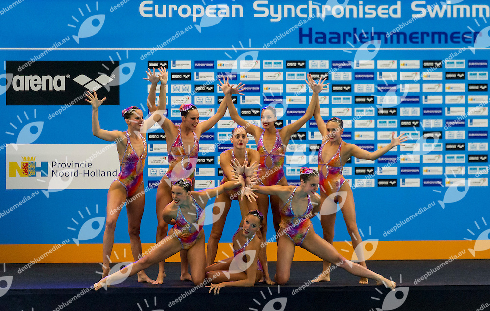 Final Team Free<br /> ESP SPAIN<br /> European Champions Cup Synchronised Swimming Haarlemmermeer 2015<br /> Haarlemmermeer, Netherlands 2015  May 8 th - 10 th<br /> Day02 - May 9th<br /> Photo P. F. Mesiano/Deepbluemedia/Inside