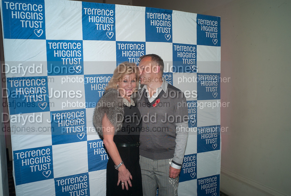 Maria Mcerlane Graham Norton, TERRENCE HIGGINS TRUST fundraising  Supper Club, One Mayfair, London. : 31 October 2012