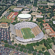 Aerial view of Tiger Stadium at Lousiana State University
