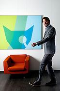 DELFT - Fox-it dhr Ronald Prins directeur. ROBIN UTRECHT FOTOGRAFIE