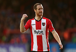 Ryan Harley of Exeter City - Mandatory by-line: Gary Day/JMP - 18/05/2017 - FOOTBALL - St James Park - Exeter, England - Exeter City v Carlisle United - Sky Bet League Two Play-off Semi-Final 2nd Leg