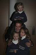 Philip von Stauffenberg and his daughters Mafalda, (above)<br />