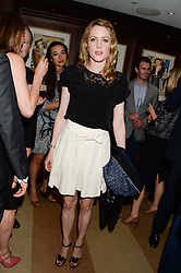 EMMA WIGAN at a party to celebrate Ben Goldsmith guest-editing the July/August 2013 edition of Spears Magazine held at 45 Park Lane, London on 19th June 2013.
