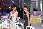 IRINA ALVES; MAYRA FERNANDES, Grey Goose Winter Ball to benefit the Elton John Aids Foundation. Battersea Power Station. London. 10 November 2012.