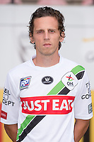 OHL's Kenneth Van Goethem pictured during the 2015-2016 season photo shoot of Belgian first league soccer team OH Leuven, Monday 13 July 2015 in Leuven.