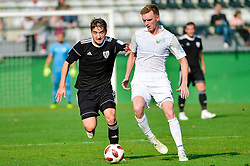 Nik Lorbek of NS Mura during football match between NS Mura and NK Rudar Velenje in 13th Round of Prva liga Telekom Slovenije 2018/19, on October 20, 2018 in Mestni stadion Fazanerija, Murska Sobota , Slovenia. Photo by Mario Horvat / Sportida