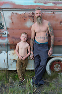 Father and son,American Dreamscapes,Erik Elbeck MR 0586
