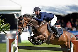 Langens Dominique, (NED), Zafira<br /> Nederlands kampioenschap springen - Mierlo 2016<br /> © Hippo Foto - Dirk Caremans<br /> 21/04/16