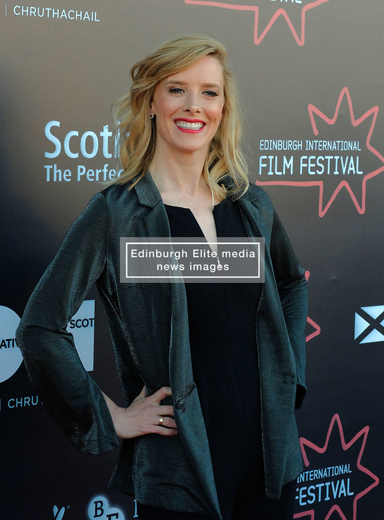 Edinburgh International Film Festival, Thursday, 21st June 2018<br /> <br /> WHITE CHAMBER (UK PREMIERE )<br /> <br /> Pictured: Shauna Macdonald<br /> <br /> (c) Alex Todd | Edinburgh Elite media