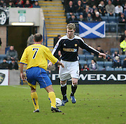 Dens Park, Dundee<br /> Kevin McDonald in action for Dundee v QoS