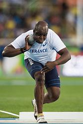 Damien RUMEAU, FRA, Athletisme, Athletics, Poids, Shot Put, F20 at Rio 2016 Paralympic Games, Brazil