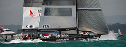 Auckland New Zealand, 31.1.09 Louis Vuitton Pacific Series racing day 2, China, winner Damiani Italia Challenge