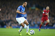 Everton forward Theo Walcott (11) during the Premier League match between Everton and Liverpool at Goodison Park, Liverpool, England on 3 March 2019.
