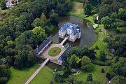 Nederland, Overijssel, Almelo, 30-06-2011; Kasteeltje Huize Almelo met slotgracht en park..Moated castle Huis Almelo and park..luchtfoto (toeslag), aerial photo (additional fee required).copyright foto/photo Siebe Swart