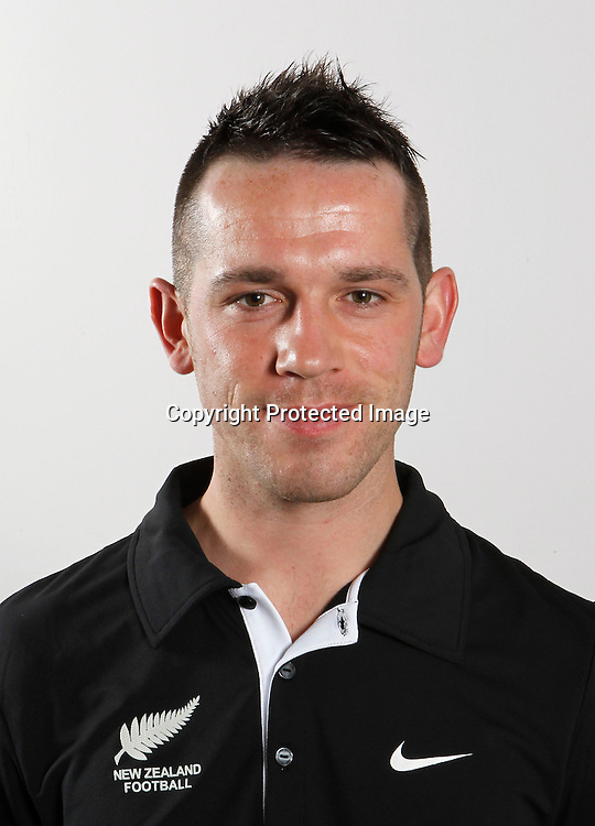 Paul Temple, Assistant Coach. The New Zealand Junior Football Ferns, Headshots, North Harbour Stadium Auckland, Wednesday 30th June 2010. Photo: Shane Wenzlick/PHOTOSPORT