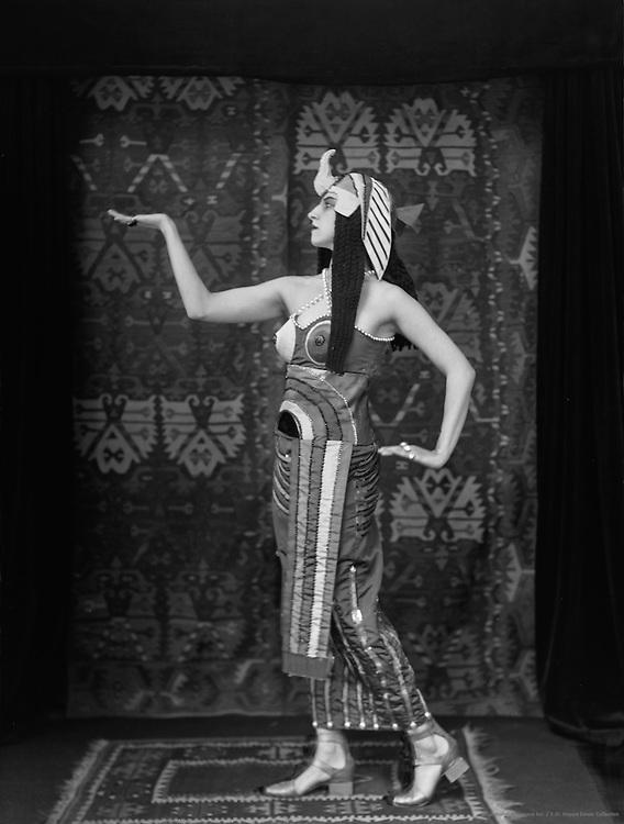 """Lubov Tchernyshova in """"Cleopatra', 1918"""