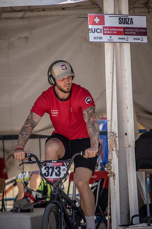 2018 UCI BMX Supercross<br /> Round 8 Santiago Del Estero (Argentina)<br /> #373 (BLANC Renaud) SUI
