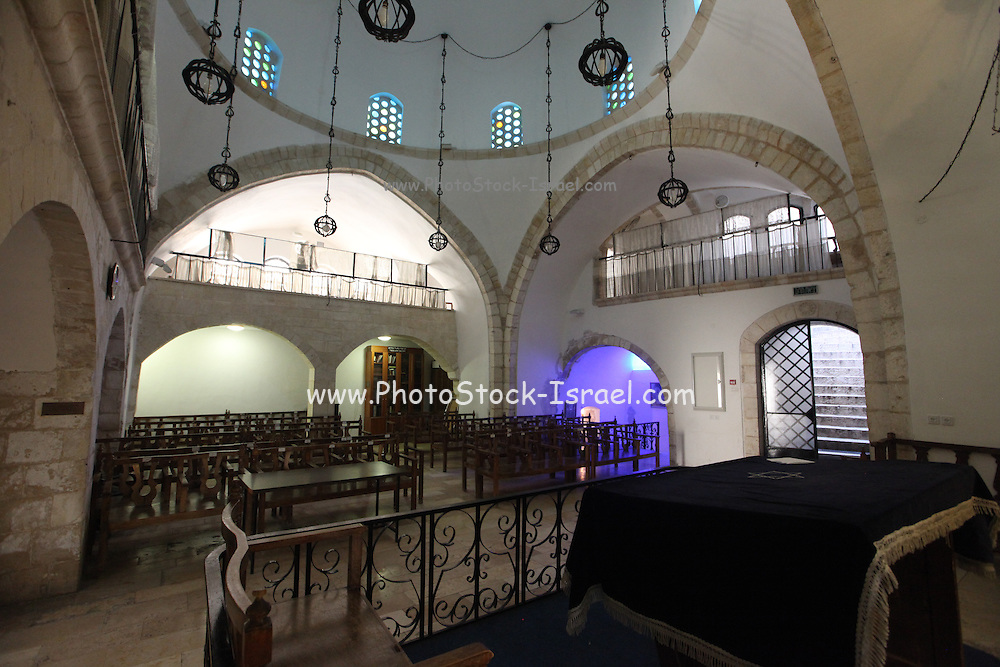 Israel, Jerusalem, Old City, Jewish Quarter, the Four Sephardic Synagogues complex. Yochanan ben Zakai Synagogue