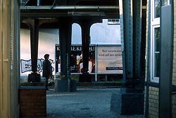 GERMANY BERLIN APR04 - Ostkreuz metro and railway station in former East Berlin.<br /> <br /> <br /> <br /> jre/Photo by Jiri Rezac <br /> <br /> <br /> <br /> © Jiri Rezac 2004
