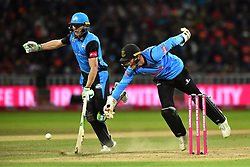 Worcestershire Rapids' Ben Cox avoids a run out during the Vitality T20 Blast Final on Finals Day at Edgbaston, Birmingham.