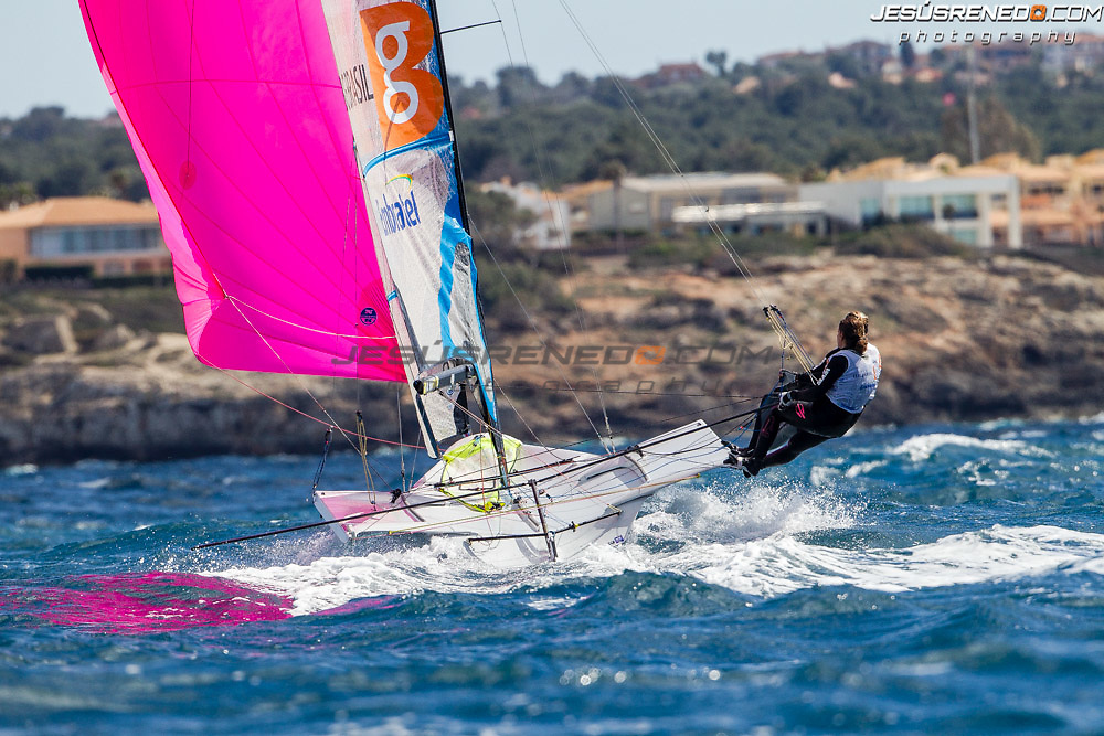 45 TROFEO S.A.R. PRINCESA SOFIA. Palma de Mallorca, Spain. Training session  March 23rd