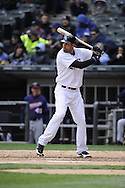 CHICAGO - APRIL 20:  Jordan Danks #20 of the Chicago White Sox bats against the Minnesota Twins on April 20, 2013 at U.S. Cellular Field in Chicago, Illinois.  The Twins defeated the White Sox 2-1 .  (Photo by Ron Vesely)   Subject:  Jordan Danks.