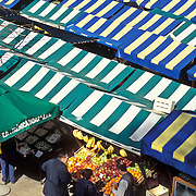 Marketplace in Zadar, Croatia