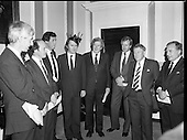 1981 - Northern Unionists Meet With An Taoiseach.  (N96).