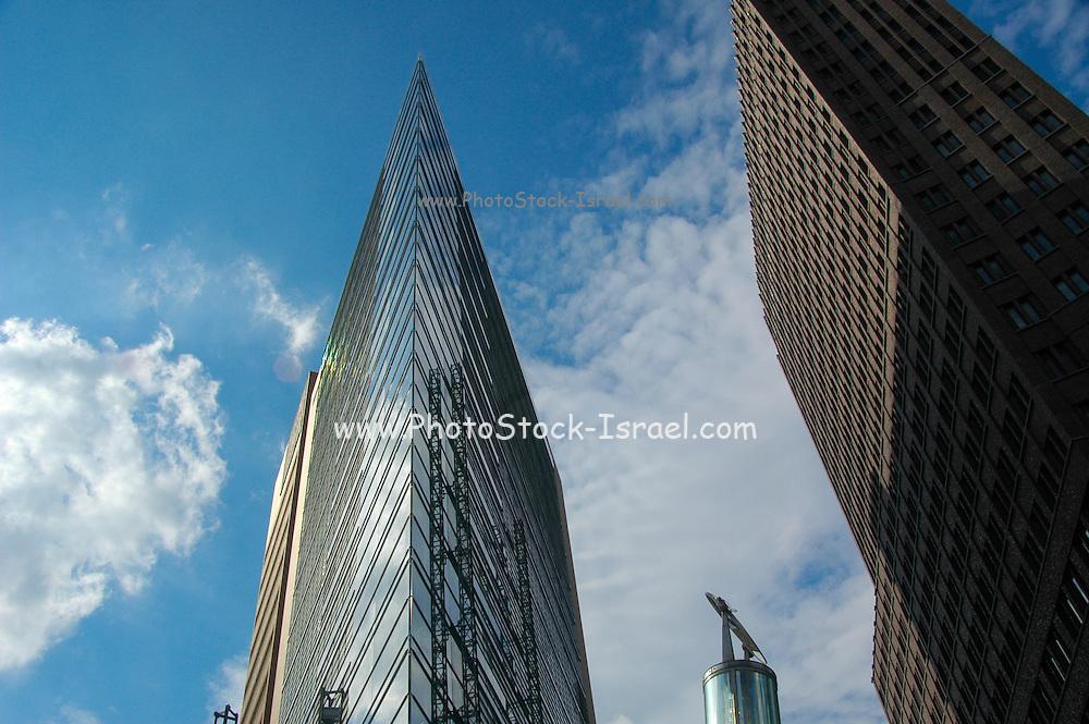 Berlin, Germany, modern highrise buildings