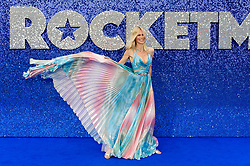 May 20, 2019 - London, England, United Kingdom - Claudia Schiffer arrives for the UK film premiere of 'Rocketman' at Odeon Luxe, Leicester Square on 20 May, 2019 in London, England. (Credit Image: © Wiktor Szymanowicz/NurPhoto via ZUMA Press)