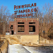 &quot;Peninsular Paper Co.&quot;<br /> <br /> Beautiful and historical Peninsular Paper Co. on the banks of the Huron River in Ypsilanti, Michigan!