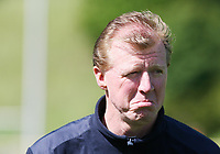 Photo: Chris Ratcliffe.<br />England training session. 07/06/2006.<br />Steve McClaren shows his bottom lip in training.