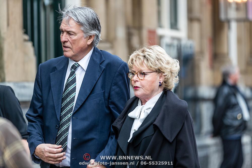 NLD/Amsterdam//20170309 - Herdenkingsdienst Guus Verstraete, Ron Brandsteder en Marianne van Wijnkoop