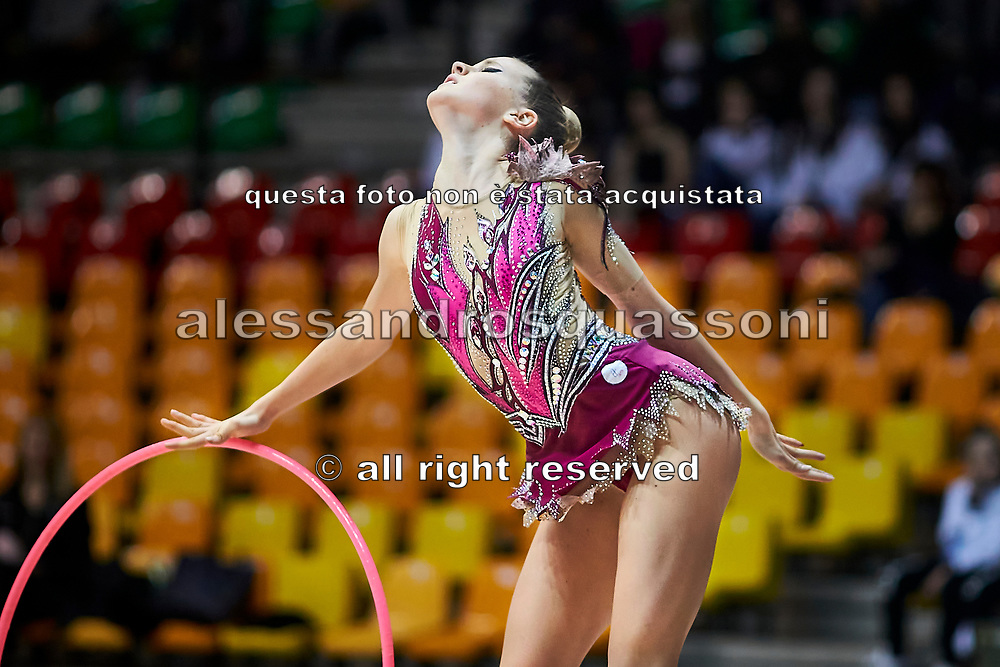 Alessia Gorina of team Italia during a training session in Desio, 08 February 2020.