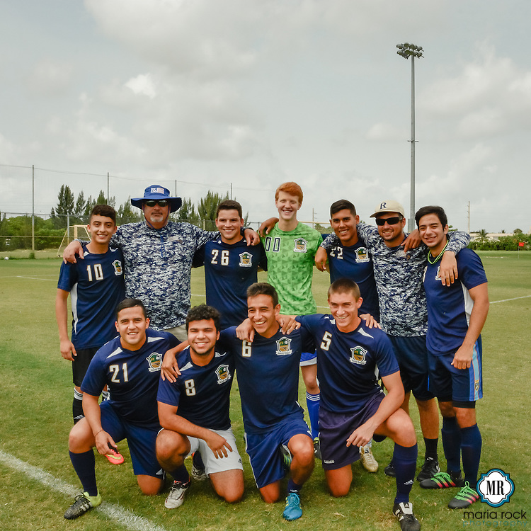 Seniors win final game for Ronald Reagan Doral Senior High School, 3-2