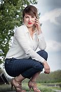 20170503 LEUVEN Belgium Annelies Boel actrice thuis portrait pict FRANK ABBELOOS