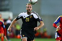 Laurent Depoitre of Belgium during the UEFA European Championship 2016 qualifying Group B football match between Andorra and Belgium on October 10, 2015 at The Estadi Nacional in Andorra la Vella, Andorra. <br /> Photo Manuel Blondeau/AOP Press/DPPI