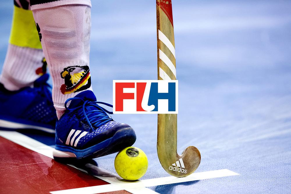 BERLIN - Indoor Hockey World Cup<br /> Semi-final: Belarus - Germany<br /> foto: <br /> WORLDSPORTPICS COPYRIGHT FRANK UIJLENBROEK