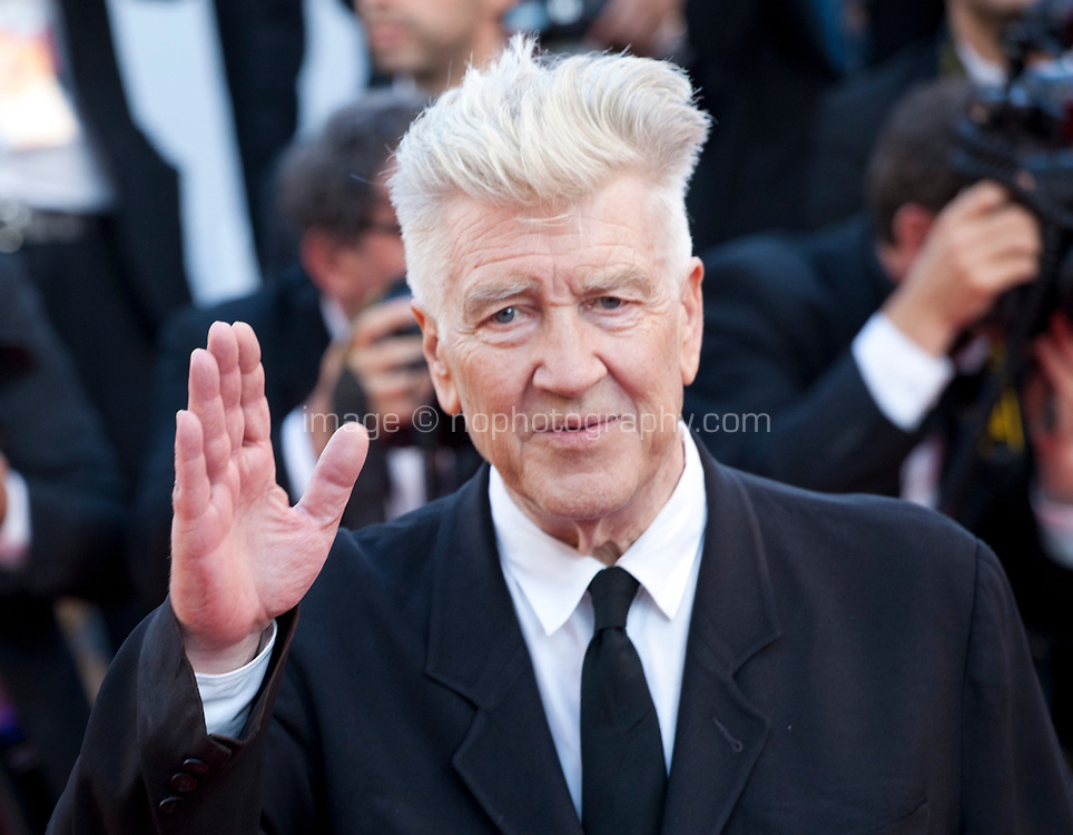 Director David Lynch at the 70th Anniversary Ceremony arrivals at the 70th Cannes Film Festival Tuesday 23rd May 2017, Cannes, France. Photo credit: Doreen Kennedy