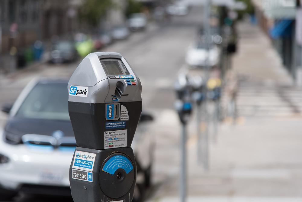 Metered Parking on Washington Street | July 28, 2017