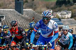 Peloton with RÉZA Kévin of FDJ during the UCI WorldTour 103rd Liège-Bastogne-Liège from Liège to Ans with 258 km of racing at Cote de Saint-Roch, Belgium, 23 April 2017. Photo by Pim Nijland / PelotonPhotos.com | All photos usage must carry mandatory copyright credit (Peloton Photos | Pim Nijland)