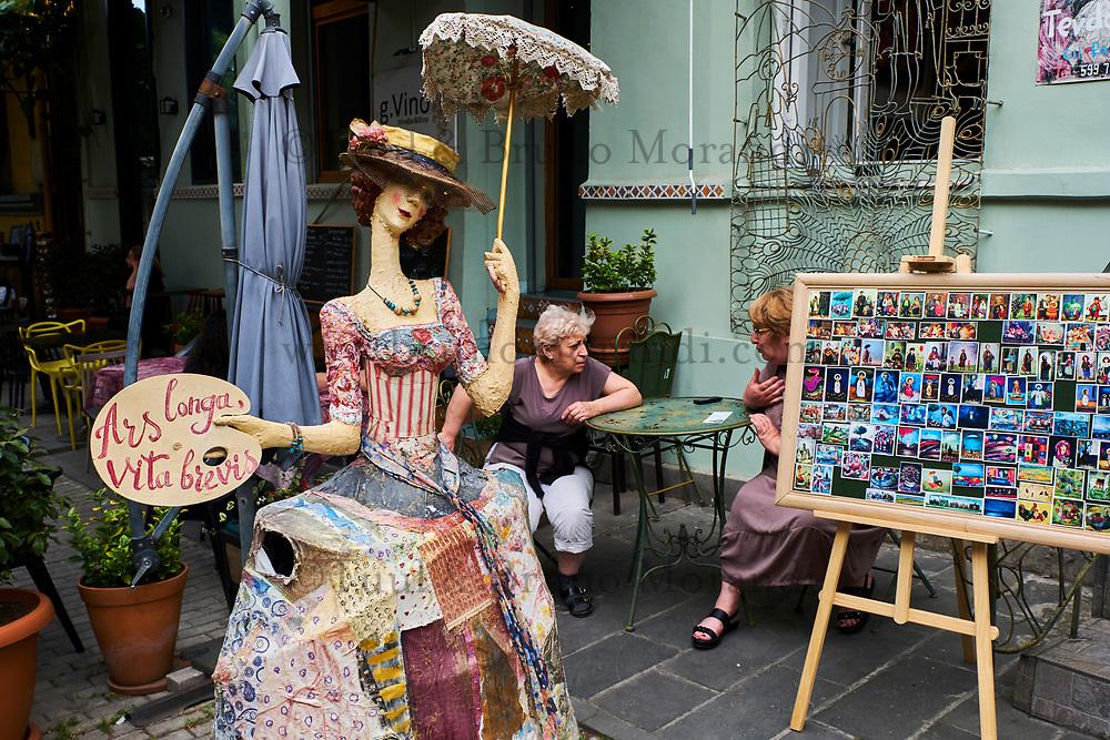 Georgie, Caucase, Tbilissi, vieille ville, rue Ioane Shavteli // Georgia, Caucasus, Tbilisi, old city, Ioane Shavteli street