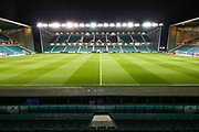 A general view of Easter Road stadium ahead of the Ladbrokes Scottish Premiership match between Hibernian and Rangers at Easter Road, Edinburgh, Scotland on 19 December 2018.
