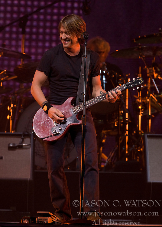 Keith Urban performed at the University of Virginia's John Paul Jones Arena in Charlottesville, VA on April 10,2008.