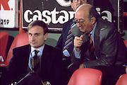 Qualificazioni Campionati Europei, Cagliari 1993 Italia-Bulgaria<br /> vittorio smiroldo, giovanni petrucci