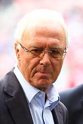 30.04.2011, Allianz Arena, Muenchen, GER, 1.FBL, FC Bayern Muenchen vs FC Schalke 04 , im Bild Franz Beckenbauer (Bayern) , EXPA Pictures © 2011, PhotoCredit: EXPA/ nph/  Straubmeier       ****** out of GER / SWE / CRO  / BEL ******