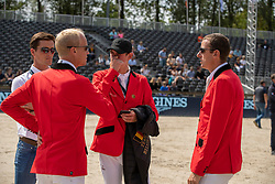 Guery Jerome, BEL, Philippaerts Nicola, BEL, Verlooy Jos, BEL, Wathelet Gregory, BEL<br /> European Championship Jumping<br /> Rotterdam 2019<br /> © Hippo Foto - Dirk Caremans<br /> Guery Jerome, BEL, Philippaerts Nicola, BEL, Verlooy Jos, BEL, Wathelet Gregory, BEL