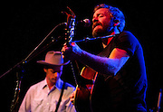 "Lead singer of Trampled By Turtles, Dave Simonett, right, performs during Minneapolis Mayor R.T. Rybak's ""Unauguration Party"" at First Avenue, Wednesday, December 18, 2013."